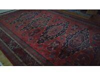 Large Keshan Wool Rug 3.6m x 2.7m