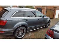 Audi q7 s line 4.2 tdi big spec