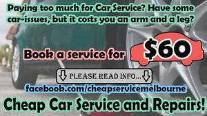Cheap Car Service & Repairs mobile mechanic Sunshine Brimbank Area Preview