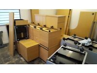 Desks, Filing Cabinets & Chairs