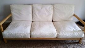 LUSH MODERN IKEA SOFA WITH FREE DELIVERY.