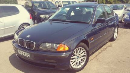 2001 BMW 325 GREAT CONDITION, LOG BOOKS, WARRANTY AVAILABLE Burwood Burwood Area Preview
