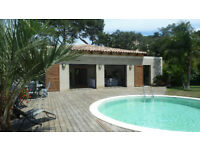 Villa with private pool south of France Giens sleeps up to 8 persons