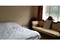 Double rooms, one with on suite in newly extended house nice country lane close to Farnham Road