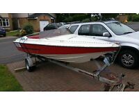 ***SPEED BOAT, TRAILER & OUTBOARD***for sale. bought this but want a day boat