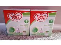 Cow & Gate First Infant Milk Starter Pack x 2
