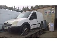 ford transit connect 2003 no keys spares repair