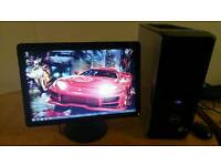 Save 50 Dell XPS 430 Quad Core Gaming Desktop Computer PC With Samsung Syncmaster 21""