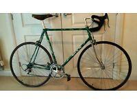 Road Bike, Columbus SL frame with Shimano 600 Ultegra Groupset,