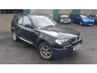 BMW X3 3.0 i SE 5dr 12 MONTH MOT/DRIVES EXCELLENT/BARGAIN