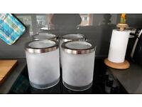 IKEA Big glass canisters