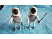 Playmobil Knight Figures & Sword Fencer Set