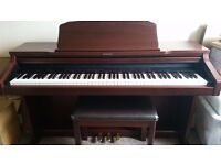 TECHNICS SX-PX334 DIGITAL PIANO FULL SIZE 88 WEIGHTED KEYS, MATCHING STOOL, FREE DELIVERY