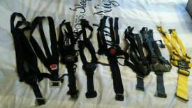 Harness for pram, pushchair and car seats