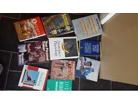 Various sports science books