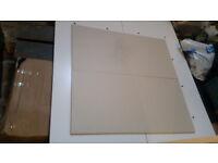 Large tile floor 90 x 45cm in cream (new)