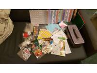 Craft card makeing clearout in box