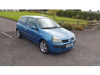 2002 Renualt Clio 1.2 16v Dynamic
