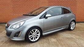 Vauxhall corsa 1.4 SRI 2012 low milage