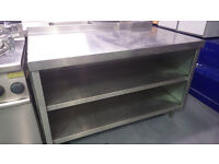 Stainless steel Catering Work Bench With Storage