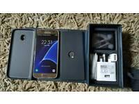 Samsung galaxy s7 platinum gold on 3 network. Brand new unused