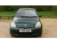 TOYOTA YARIS 5DOOR 12MONTH MOT WARRANTED MILES HPI CLEAR EXCELLENT CONDITION