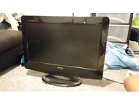 21'' lcd tv with freeview