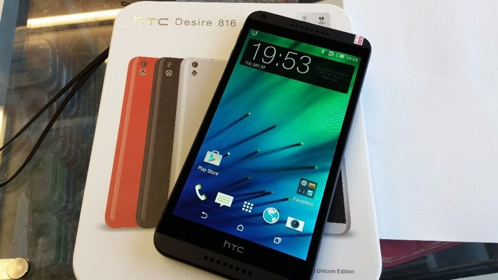 HTC Desire 816, unlockednewin Leytonstone, LondonGumtree - HTC Desire 816 Brand New Black Colour With box and charger 5.5 inch screen 13MP camera 1.5GB RAM 2600mAh lithium ion battery All items I sell do come with receipt so you have peace of mind. Im located on Leytonstone High Road in walking distance to...