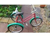 3 wheeler bicycle