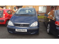 Mercedes A140 se 2004 with private plate included low miles FSH