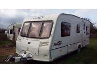 bailey pageant vendee fixed bed 4 berth caravan