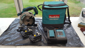 MAKITA 18V LXT CIRCULAR SAW