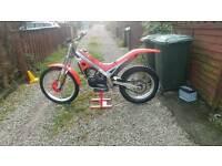 Gasgas jtx320/350 trials bike