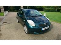 TOYOTA YARIS 1.4 DIESEL ECONOMIC PERFECT CAR WITH FULL MOT