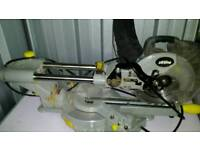 Xtreme with tct blade laser guided sliding chop saw ( pick up only )