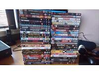Joblot of 84 dvds