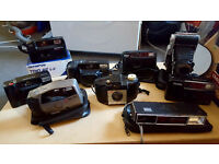 A Selection Of Film Cameras