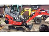 Kabota KX 015-4 2012 Only 2070hrs Great machine!