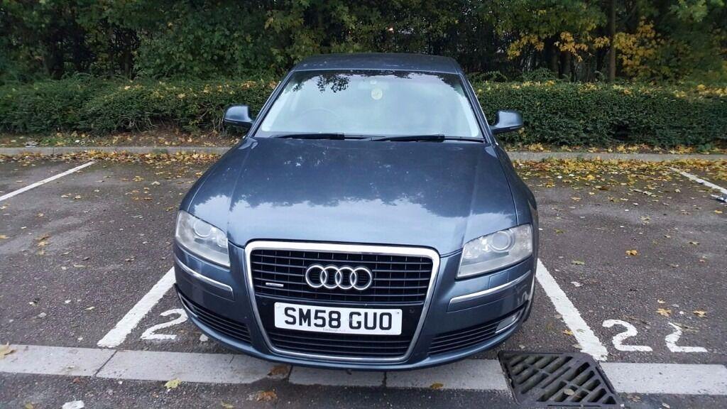 2008 Audi A8 Tdi Sport 3 0l Diesel Fully Loaded 126k Miles Long Mot In Watford