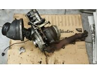 Turbo Charger+actuator Mercedes E220 c220 cdi A6460901080 6nw009228 complete SET PAK £300