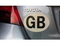 GB car badge