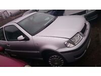 2000 VOLKSWAGEN POLO, 1.4 PETROL, BREAKING FOR PARTS ONLY, POSTAGE AVAILABLE NATIONWIDE