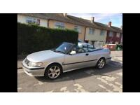 Saab convertible 2.0 low pressure turbo 2001 long mot & very reliable car