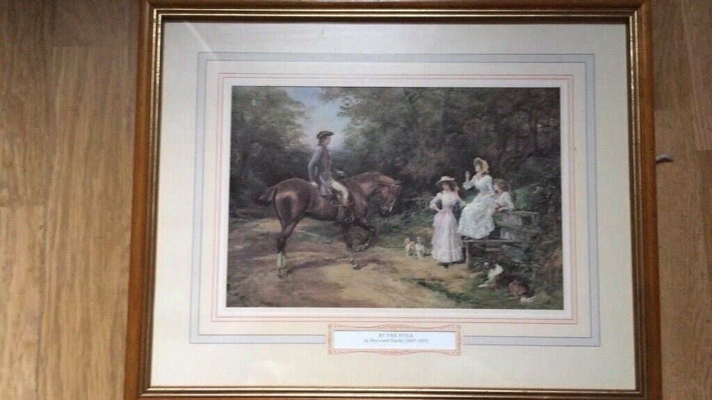 Antique painting - look - feel free to check my other items