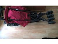 Hauck Lima stroller (like new)