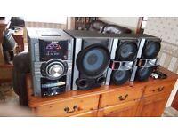 SONY GENEZI MHC-GT444 High Spec Music System, Virtually Brand New, Used Twice Since New