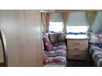 BAILEY PAGEANT BORDEAUX 2005 CARAVAN, FIXED BED, MOTOR MOVER, BRAND NEW MATTRESS