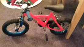 CHAMPION SILVERFOX RED CHILD'S BIKE - EXCELLENT AS NEW CONDITION
