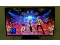 SAMSUNG 55inch SMART 3D LED TELEVISION with SAMSUNG SMART BLU RAY PLAYER with 4 3D GLASSES