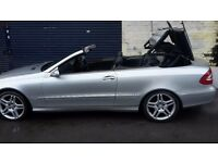 MERCEDES CLK SOFT-TOP -3.2-MOT-V5 LOGBOOK-CLEAN-2003-GOOD-WORKING ORDER-117K-SUMMERTIME BARGAIN